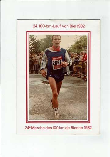 Bernd Scherer 100 km Biehl 1982